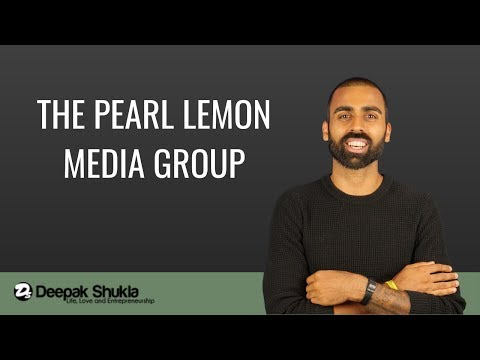 Entrepreneurship: The Pearl Lemon Media Group