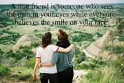 A true friend . . .
