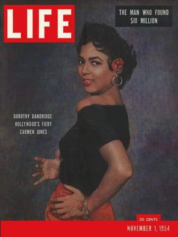 Dorothy Dandridge LIFE Magazine Cover November 1, 1954