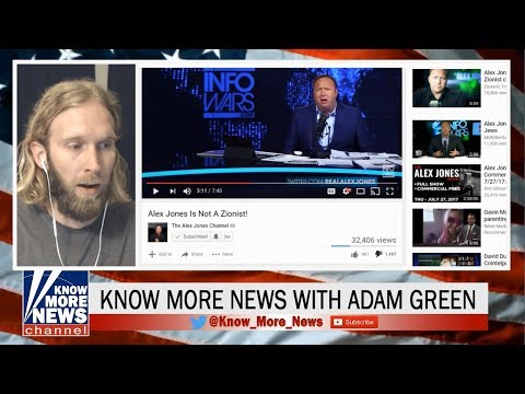 Alex Jones on Trial | What's Wrong with Zionism? [Adam Green / Know More News]