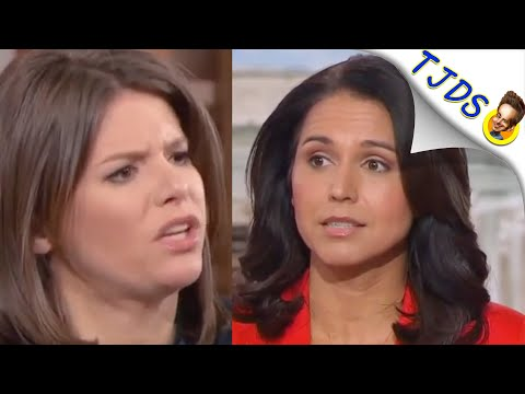 Tulsi Gabbard SMASHES HER CRITICS In Corporate News