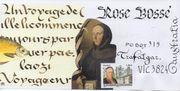 sent to Rose Bossé