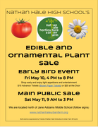 NATHAN HALE'S SPRING ORNAMENTAL AND EDIBLE PLANT SALE
