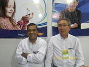 Eu e meu amigo Elizio Nomoto ( Kazú ) na Febratex08 118