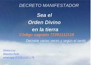 Sea el Orden Divino en la tierra