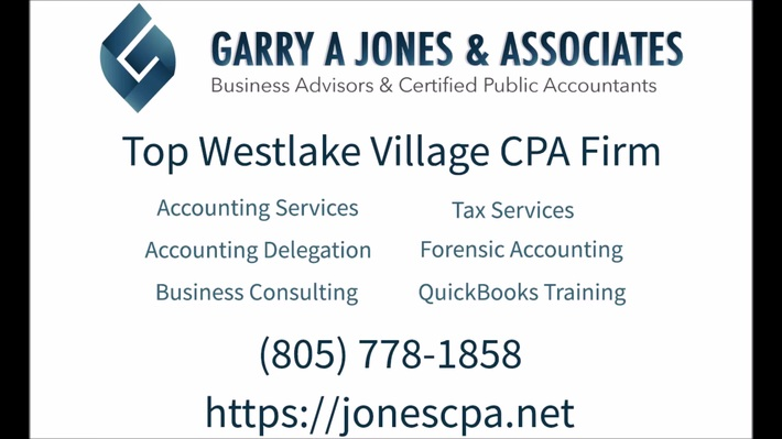 Business Accountant Westlake Village  CPA Westlake Village CA