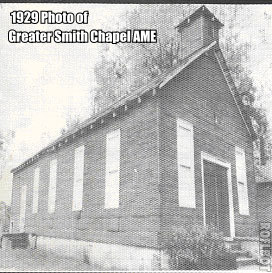 Greater Smith Chapel 1929