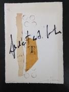 """Cinzia Farina - """"Asemic T"""" per Karen Wood"""
