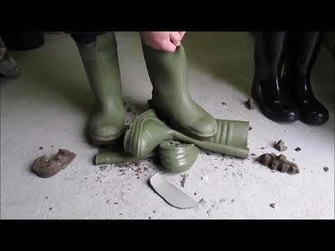 dunlop thermo gone and cheap plastic boots