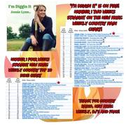 Jessie Lynn New Music Weekly 2nd wk at #1 03-29-19
