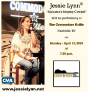Jessie Lynn at The Commodore Grill 04-15-19