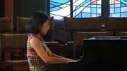 Alison Kim on piano playing Shostakovich