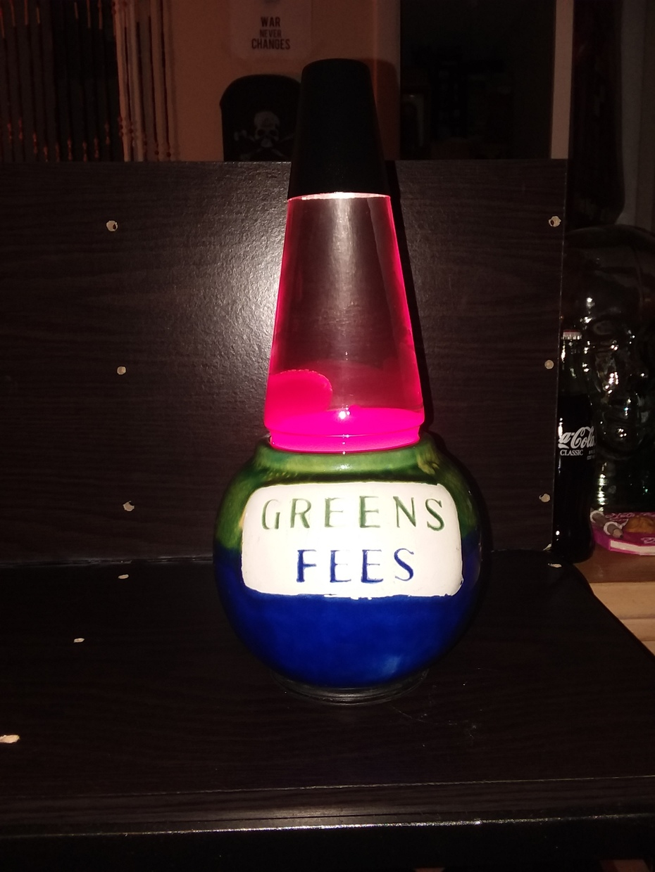 Green fees lamp