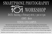SMARTPHONE PHOTOGRAPHY WORKSHOP 2 FEBRUARY 2019