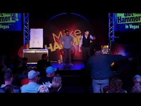 Stand Up Comedy Vegas (why airlines seat suck)