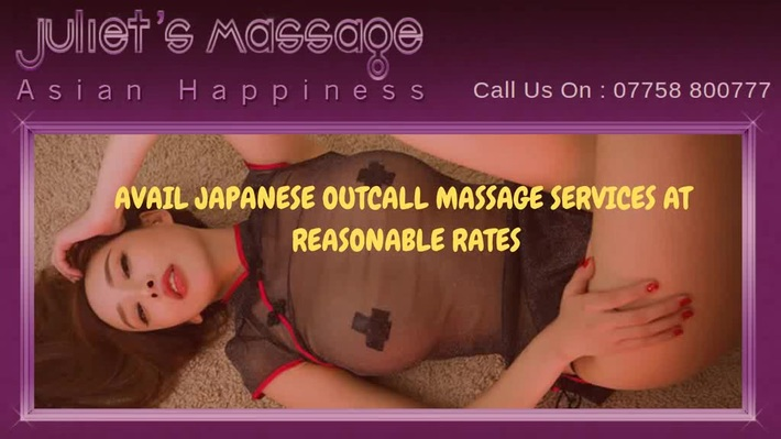 Japanese Outcall Massage In London - Juliet's Massage