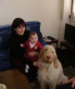 Zia, nipote e cagnolone