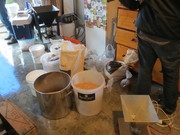 Brew club collab brew day