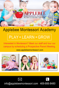 Montessori in McKinney – Applebee Montessori academy