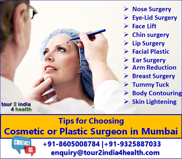 Tips for Choosing a Cosmetic or Plastic Surgeons Mumbai
