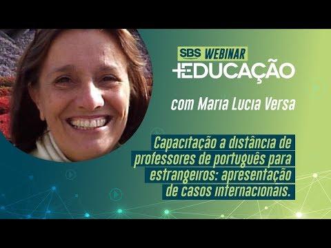 Capacitação a Distância de Professores de Português para Estrangeiros