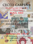 INVITATION MAIL ART Angel at the post Office