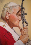 Papa Wojtyla 50x70cm