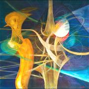 Ecce Homo  120x120  2009   tecnica mista
