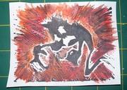 Linoprint 4 x 5