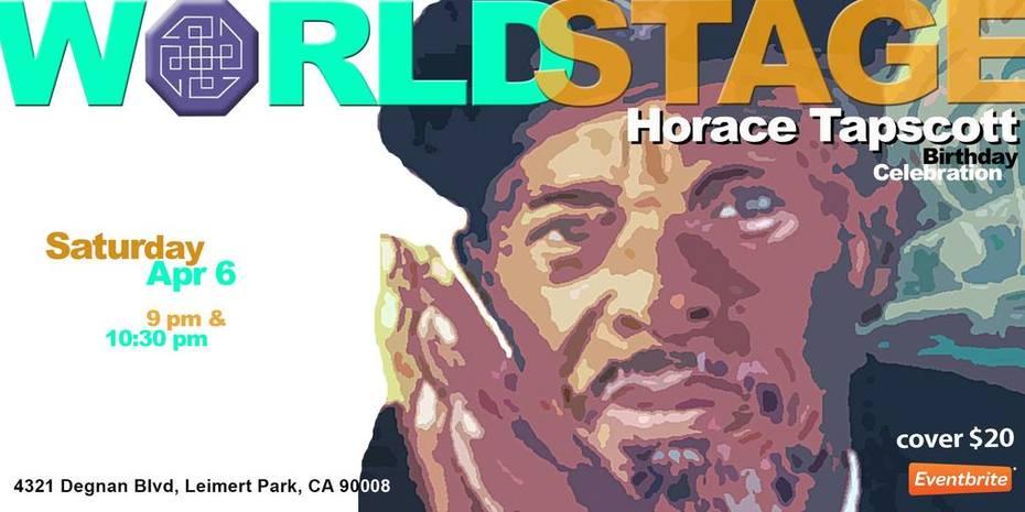 HORACE TAPSCOTT / P.A.P.A. Tribute - Birthday Celebration