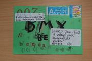 kids mail art from BEREND in Belgium