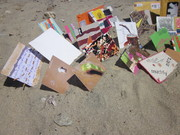 Mail Art in Greek Sand Book, May, 2011