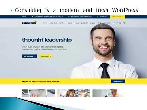 Consulting Wordpress Theme - Wp web Themes
