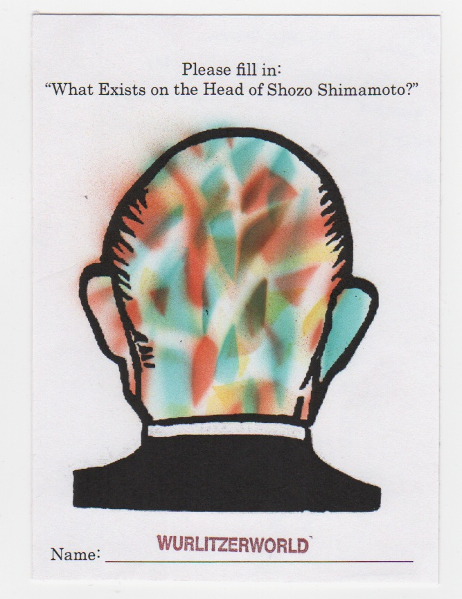 What Exists in the head of Shozo Shimamoto?