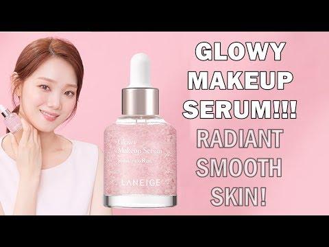 LANEIGE Glowy Makeup Serum 라네즈 글로이메이크업세럼 리뷰 | K-BEAUTY