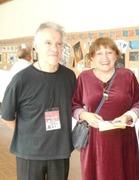 Clemente Padin y Keyla Holmquist