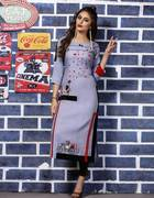 Shop Embroidered Kurtis Online At Best Discounted Price