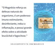 Magnésio e defesas naturais do organismo
