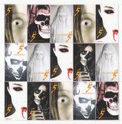 halloween artist stamps by JOB