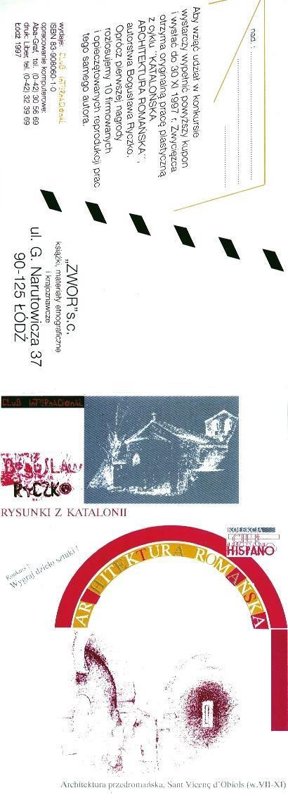 Architektura romańska, promocja 'Zwor', 1997