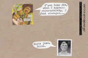 Philatelic Meditations express with text