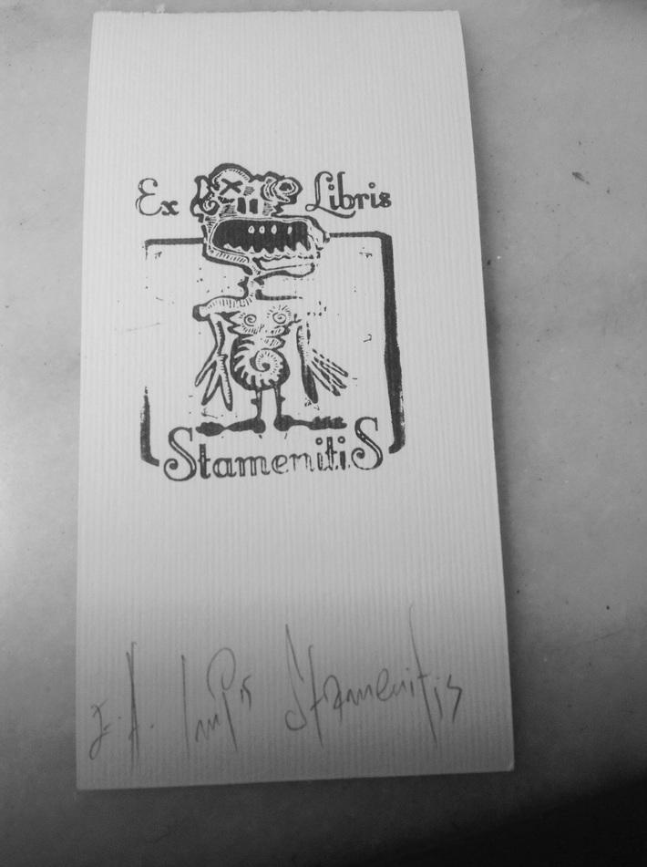 Mail art from Giannis Stamenitis