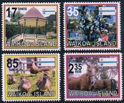 Waikoa Island 2014 Pictorial stamps