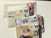 Outgoing mail - fly away letters!
