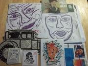 Mail Art from Ed Giecek