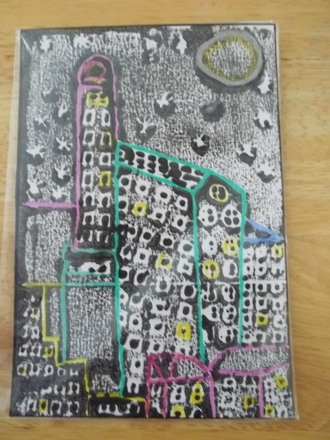 "Print ""Night time in the City"" for Lisa Fraker"