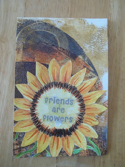 Friends are Flowers for Kristen Hermanny