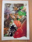 Orange Mail Art for Ficus S