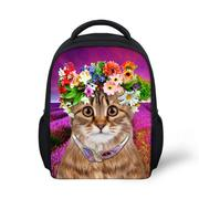 Best Cat Bag | Pretty Floral Cat Backpack