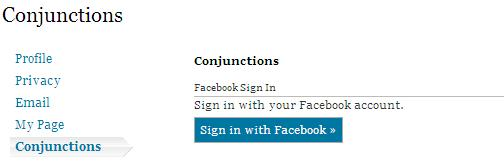 Facebook Sign-in